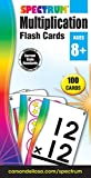 Spectrum Multiplication Flash Cards: Ages 8+