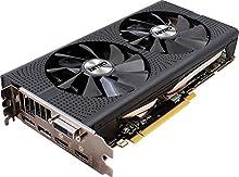 Sapphire 11260-02-20G Radeon RX 480 - Tarjeta gráfica (500 W, Radeon RX 480 a 1750 MHz, 4 GB de RAM, 2 x HDMI), negro