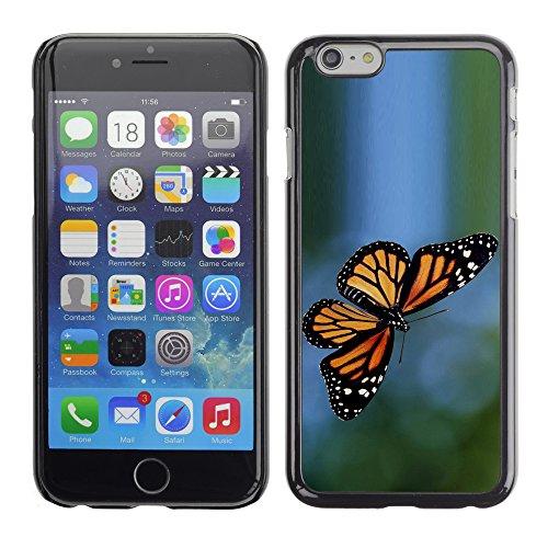Graphic4You Bunt Schmetterling Schmetterlinge Muster Design Harte Hülle Case Tasche Schutzhülle für Apple iPhone 6 / 6S Design #5