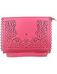 Frauen Verborgen Unterarmtasche Steppen Glänzend Umschlag Handtasche Abend Vintage-Party Girly HandBags c069amcz