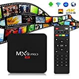 MXQ Pro 4K HDMI S905 Smart OTT TV Box 64Bit 2.0GHz Quad Core Android 6.0