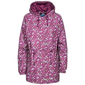 51t78ESaqjL. SS300  - Trespass Women's Pastime Waterproof Rain Jacket