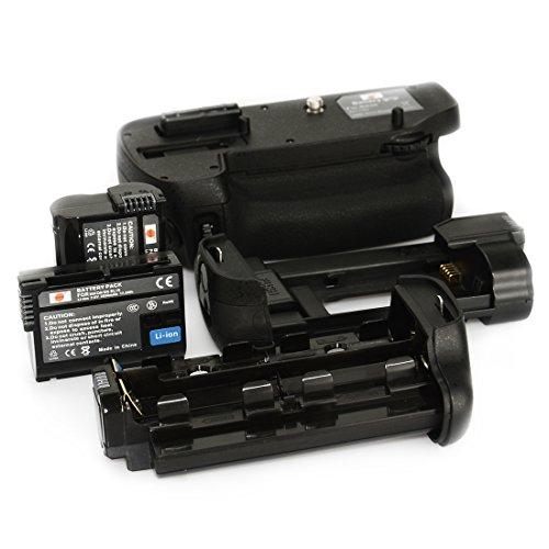 DSTE? MB-D15 Replacement Battery Grip For Nikon D7100 + 2pcs EN-EL15 Li-ion Battery
