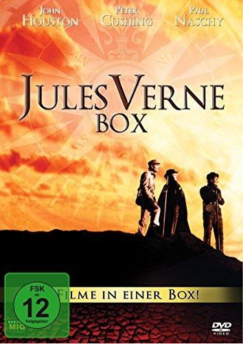 Jules Verne Box - 4 Filme in einer Box ( 2 DVDs, digitally remastered) Gloria Music Box