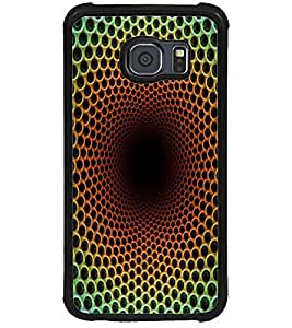 ColourCraft Colour Abstract Design Back Case Cover for SAMSUNG GALAXY S6
