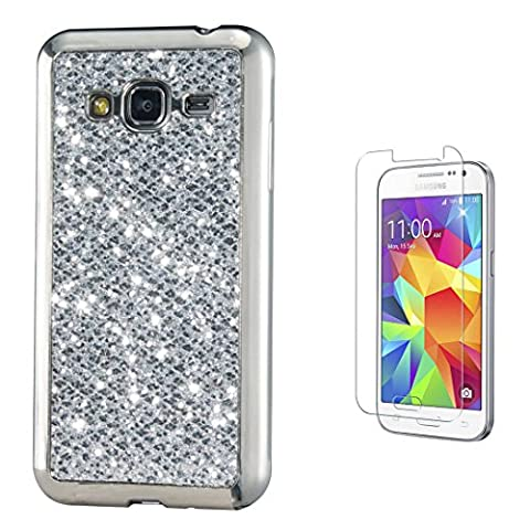 Pheant® [2in 1] Samsung Galaxy Core Prime G360F Coque Gel