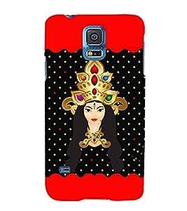 Saadhvi 3D Hard Polycarbonate Designer Back Case Cover for Samsung Galaxy S5 Mini :: Samsung Galaxy S5 Mini G800F