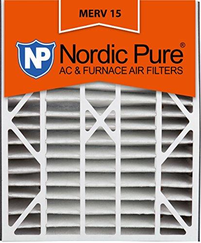 Ofen-air-hepa-filter (Nordic Pure 20x 25x 5abm15–4Merv 15AC Ofen Filter, 4Stück)