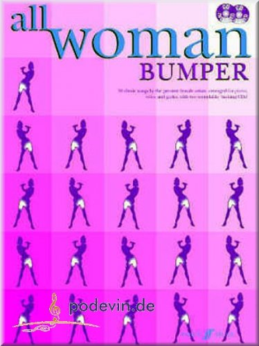 All Woman - Bumper - Noten Songbook Klavier, Gesang & Gitarre [Musiknoten] (Gitarre Key Wind)