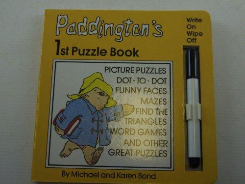 Paddington's 1st puzzle book