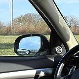 ProPlus 750613ángulo muertas (de espejo adicional de 2unidades) rectangular, 36x 95mm ajustable Convexo con 3M Cinta Adhesiva para montaje en el espejo exterior o con soporte en el espejo interior