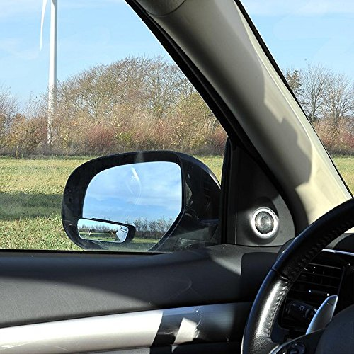 Preisvergleich Produktbild ProPlus 750613 Toter Winkel Zusatzspiegel Spiegel (2 Stück) rechteckig 36x95mm verstellbar konvex mit 3M Klebeband zur Montage am Aussenspiegel oder mit Halter am Innenspiegel