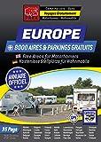 """NOUVEAUTÉ ! Annuaire EUROPE des Aires & Parkings GRATUITS: Collection Noire """"Voyagez Gratuitement en Europe""""..."""