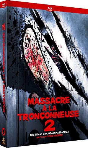 Image de Massacre à la TRONÇONNEUSE 2 [Édition Collector Limitée Blu-Ray + DVD]