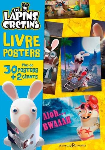 Livre poster Lapins Crétins