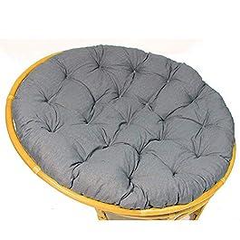 DLPY Papasan Bourré Coussin De Chaise Swing Coussin Fauteuil Épaissir Confortable Tissu 100% Coton Canard s'adapte à La…