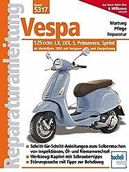 Vespa 125 ccm: Modelle LX, LVX, S, Primavera, Sprint ab Modelljahr 2005 (Reparaturanleitungen)