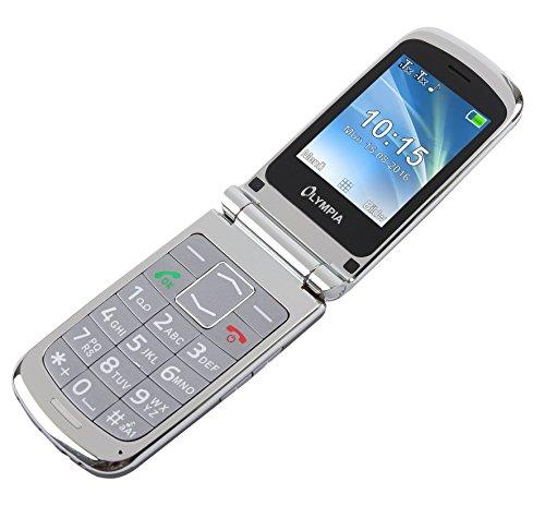 Image of OLYMPIA Modell Style Plus Komfort-Mobiltelefon mit Großtasten und Farb-LC-Display silber