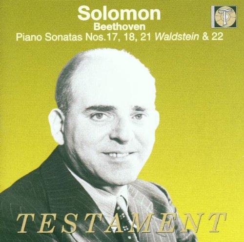 Solomon spielt Beethoven (Sonaten Nr. 17, 18, 21, 22) (Aufnahmen 1951-1954)