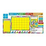 Tendencia Empresas calendario anual Bulletin Board Set (español) (t-8097)