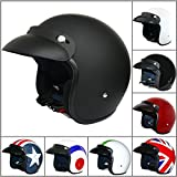 Best Motorcycle Helmets - Leopard LEO-604 Open Face Helmet Scooter Motorcycle Motorbike Review