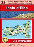 Elba Wanderkarte / Mountainbikekarte 1:25.000, Isola d'Elba, Carta dei sentieri