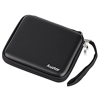 Austor Travel Carrying Protective Case for Nintendo 2DS,Black