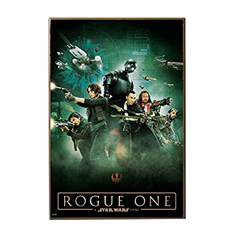 Star Wars Silver Buffalo SY0536 Rogue One Official Movie Poster 13 x 19