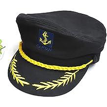 HSL yate barco marinero Capitán disfraz sombrero gorra azul marino  admiral-black 7aaaf95060d