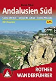 Andalusien Süd: Costa del Sol - Costa de la Luz - Sierra Nevada (Rother Wanderführer) (German Edition)