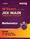 Chapterwise Solutions Mathematics JEE Main 2018