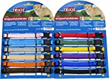 Puppy Dog Whelping Collars. 2 Sizes, Variable Amounts, Assorted Colurs (12 x Small / Medium)
