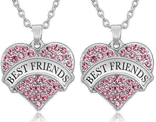 juego-de-2-mejores-amigos-tono-de-la-plata-de-corazon-collares-rosa-cristales-para-bff-besties-siste