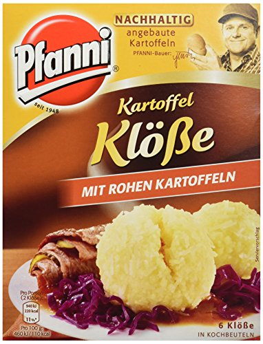 Pfanni Kartoffelklöße mit rohen Kartoffeln 6 Stück, 3er-Pack (3 x 200 g)