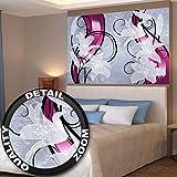 Artistico bianco giglio opera grafica quadro da parete by GREAT ART (140 x 100 cm)
