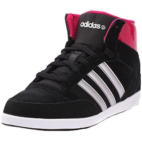 Adidas Daily Twist Mid noir, baskets mode femme noir/rose