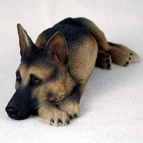 Tan & Black German Shepherd My Dog Figurine by Conversation Concepts -