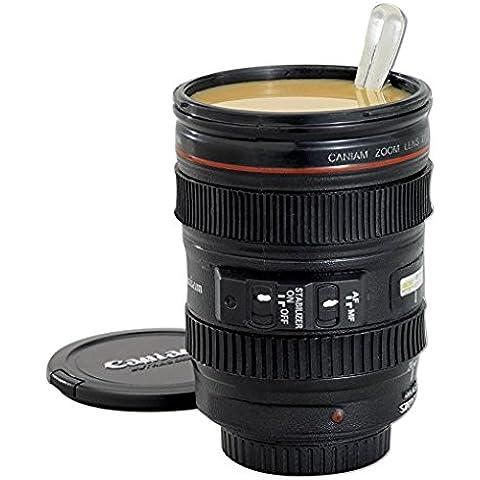 Camera Lens Cup, nero