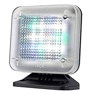 LED Fake TV Light Simulator Anti-Burglar - Home Security Theft Deterrent Devic with Timer and Light Sensor, USB Cable