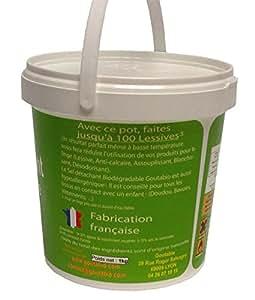 Sel Détachant Lessive Ecologique 5 kg - Goutabio
