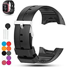 Für Polar M400 GPS-Laufuhr Uhrenarmband, Polar M430 Laufuhr Silikon Armband - iFeeker Zubehör Weich Silikon Gummi Ersatz Uhrenarmband Armband Sport Armband für Polar M400 / M430 GPS Laufuhr