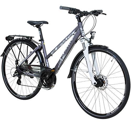 Whistle 28 Zoll Trekkingrad Crossrad Damenrad 24 Gang 44 cm oder 49 cm, Rahmengrösse:49 cm -