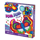 Orb fábrica - ORB70397 - Mundo Creativo - Pom Pom Fotos - borlas Pega a los Colores correspondientes - Butterfly