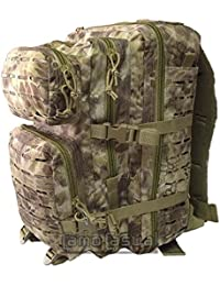 Mochila US Assault Pack Largo corte por láser Mandra - Kryptek Nomad