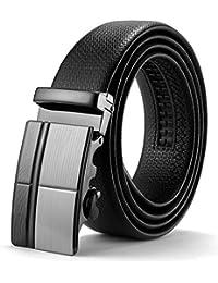 d38511a32b7e52 ITIEZY Herren Gürtel Ratsche Automatik Gürtel für Männer 35mm Breit  Ledergürtel