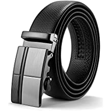 ITIEZY Herren Gürtel Ratsche Automatik Gürtel für Männer 35mm Breit  Ledergürtel 49407f53c7