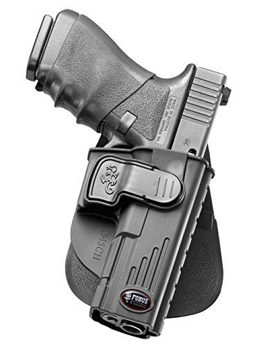 Fobus holster Gürtel halfter mit Trigger Guard Locking System für Glock 20, 21 Nur Generation 3 & 4 (Swat-team Pistole)