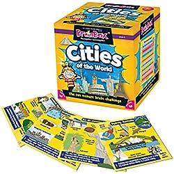BrainBox Ciudades Juegos de cartas