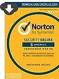Norton Security Deluxe 2016 - 5 Appareils [Téléchargement]