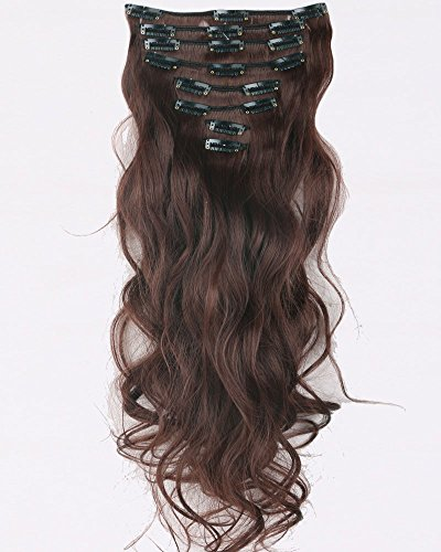 23-inches-58cm-long-natural-curly-wavy-8-piece-full-head-18clips-women-ladies-girls-clip-in-hair-ext
